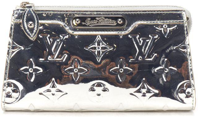 LOUIS VUITTON Miroir Silver Monogram Trousse Cosmetic Pouch