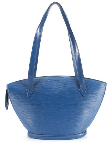 LOUIS VUITTON Blue Epi Leather St Jacques PM Tote Bag