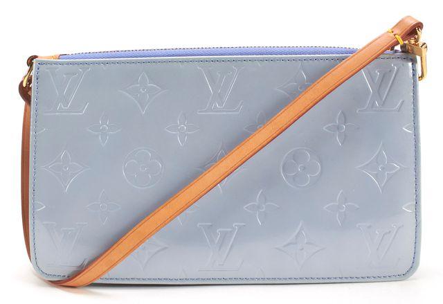 LOUIS VUITTON Lavender Vernis Monogram Pochette Shoulder Bag