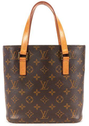 LOUIS VUITTON Brown Monogram Canvas Vavin PM Top Handle Bag