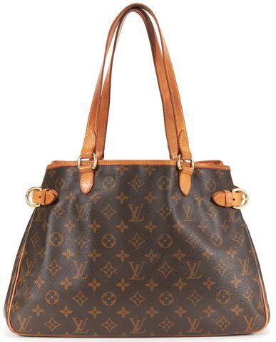 LOUIS VUITTON Brown Monogram Canvas Tote Handbag