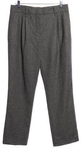 LOUIS VUITTON Gray Wool Trouser Pants