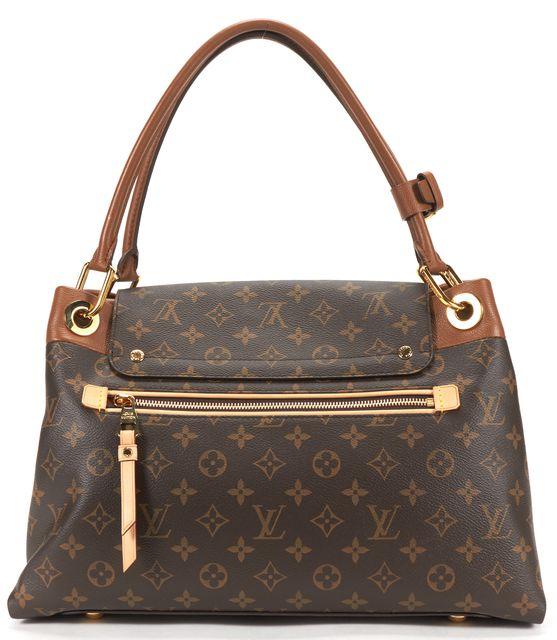 LOUIS VUITTON Monogram Olympe Camel Shoulder Bag