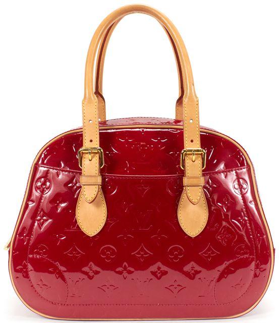 LOUIS VUITTON Vernis Summit Drive Pomme D'Amour Top Handle Handbag