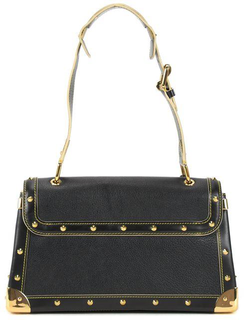 LOUIS VUITTON Black Suhali Leather Le Talentueux Shoulder Bag