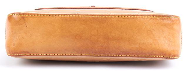 LOUIS VUITTON Beige Epi Leather Clutch Shoulder Bag