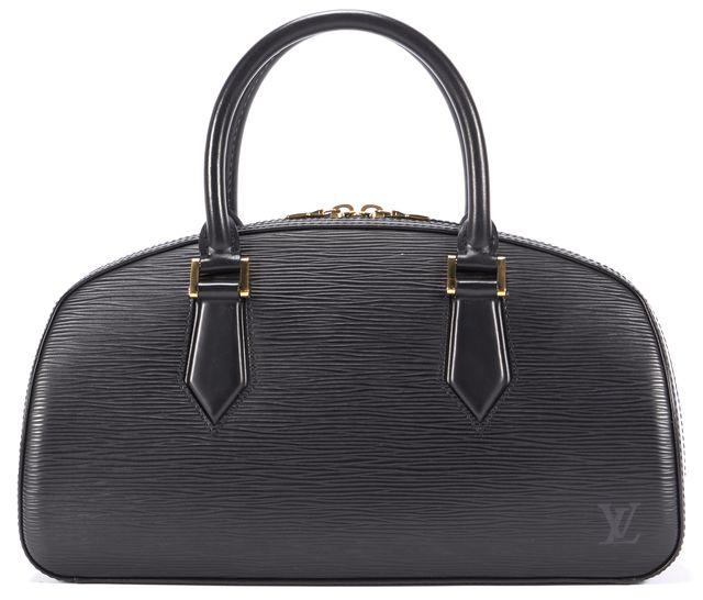 LOUIS VUITTON Black Epi Leather Jasmin Top Handle Bag