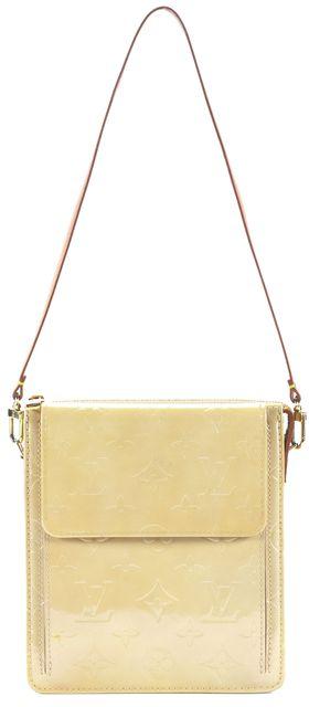 LOUIS VUITTON Vernis Mott Pochette Shoulder Bag