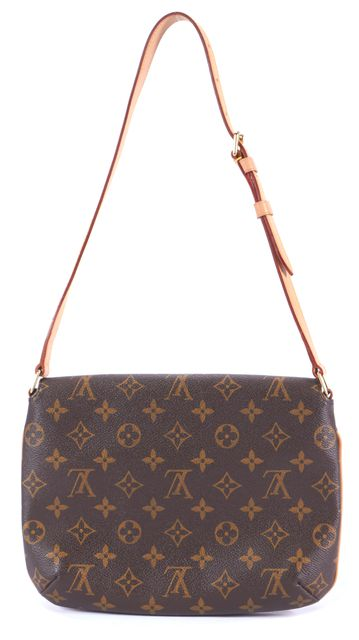 LOUIS VUITTON Brown Monogram Crossbody Handbag