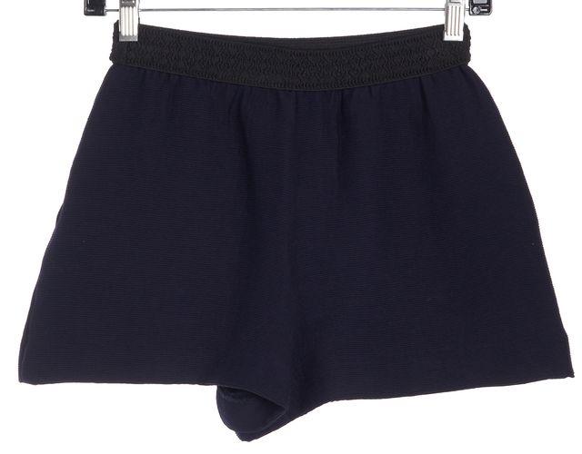 MAJE Navy Blue Dress Shorts