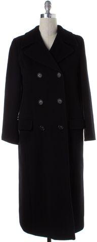 MAXMARA Black Wool Double Breasted Coat