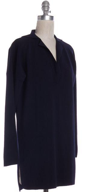 MAXMARA Navy Blue Shift Dress