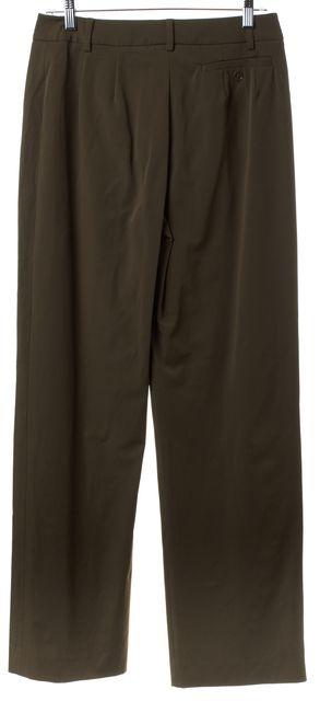 MAXMARA Green Wide Leg Trousers Pants