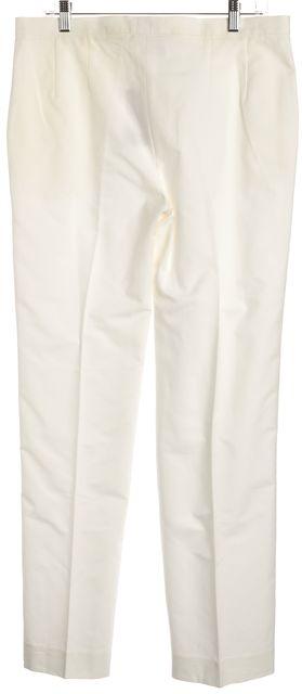 MAXMARA White Wide Leg Trousers Pants