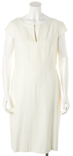 MAXMARA White Sheath Dress