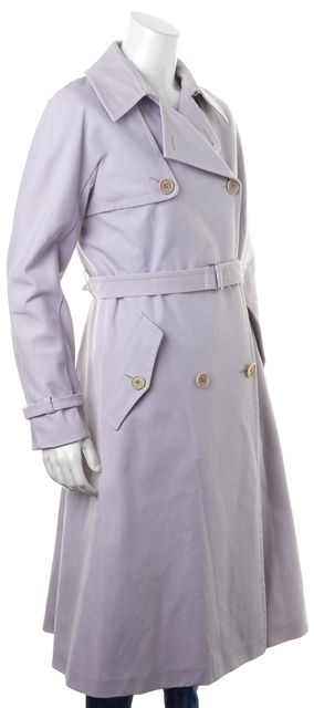 MAXMARA Purple Lavender Trench Coat