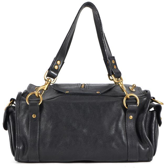 MULBERRY Black Leather Emmy Shoulder Bag