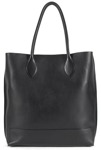 MULBERRY Black Leather Blossom Tote Shoulder Bag
