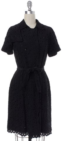MOSCHINO CHEAP & CHIC Black Floral Sheath Dress