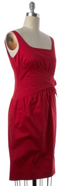MOSCHINO CHEAP & CHIC Red Sleeveless Sheath Dress