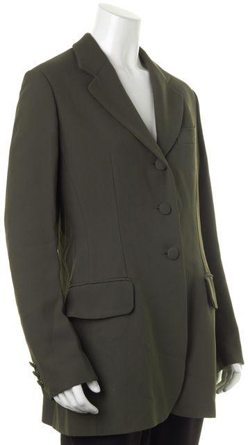 MOSCHINO CHEAP & CHIC Forrest Green Pocket Front Blazer