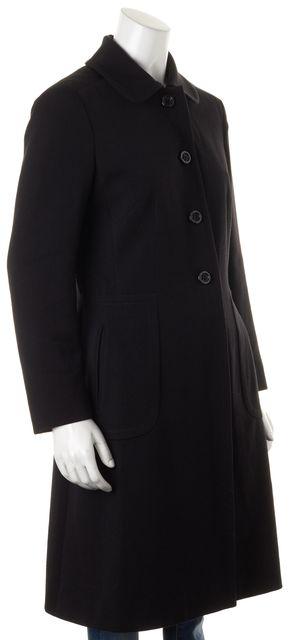 MOSCHINO CHEAP & CHIC Black Wool Button Down Coat