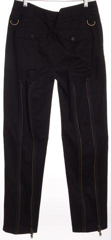 MCQ ALEXANDER MCQUEEN Black Zipper Detail Pants