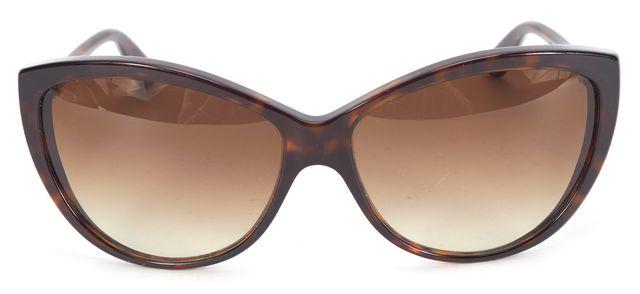 MCQ ALEXANDER MCQUEEN Tottoise Acetate Frame Gradient Lens Cat Eye Sunglasses