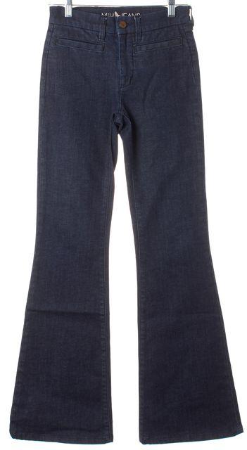 M.I.H. JEANS Blue Marrakesh Mid Rise Kick Flare Jeans