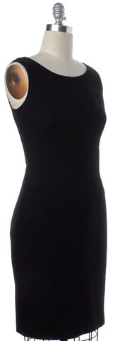 MILLY Black Sheath Dress
