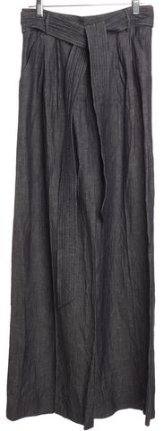 MILLY Blue Wide Leg Casual Pants