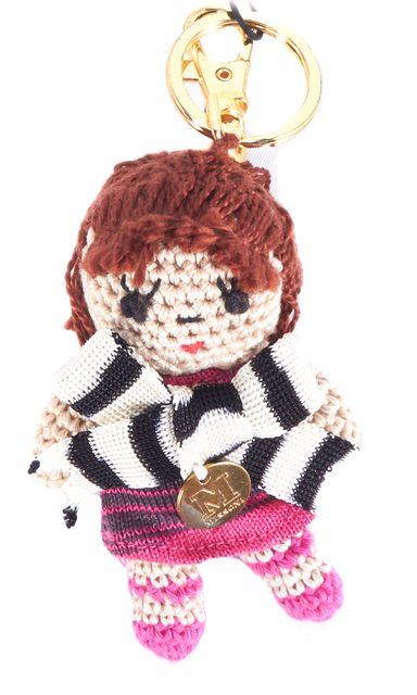 MISSONI Multi-color Doll Key Holder Key Chain & Bag Charm