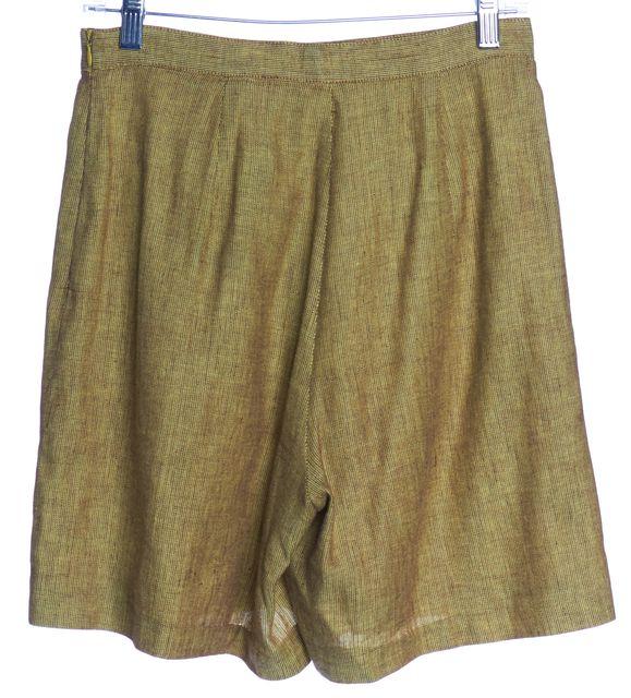 MISSONI SPORT Yellow Linen Casual Shorts