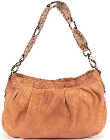 MIU MIU Brown Nappa Leather Shoulder Bag