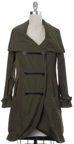 MACKAGE Olive Green Hooded Jacket Coat