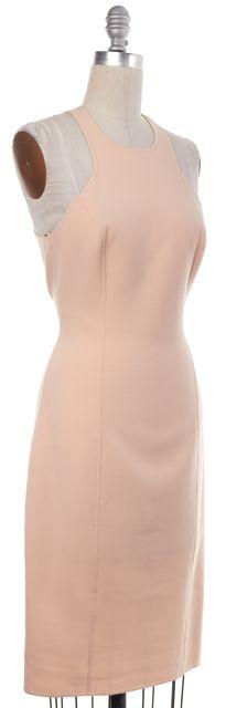 MICHAEL KORS Blush Pink Nude Sleeveless Sheath Dress