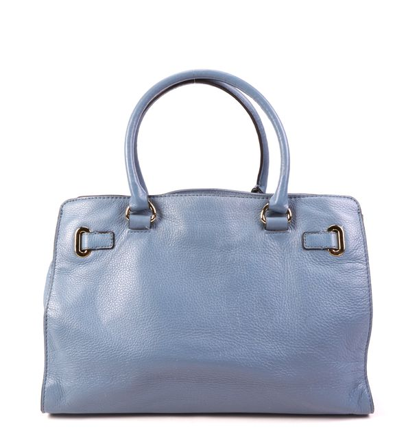 MICHAEL KORS Blue Leather Shoulder Bag Satchel