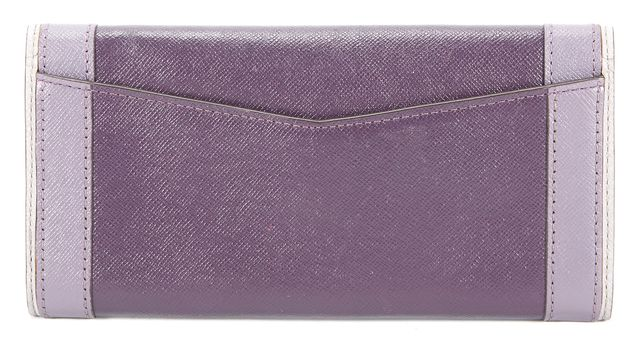 MICHAEL KORS Purple Colorblock Wallet