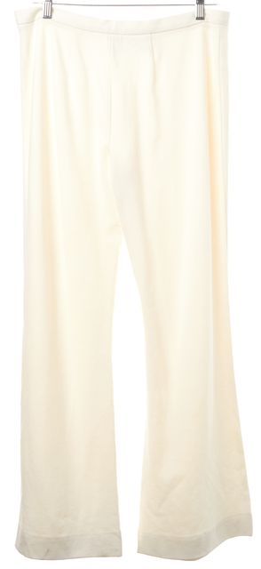M MISSONI White Side Zip Flare Casual Stretch Pants