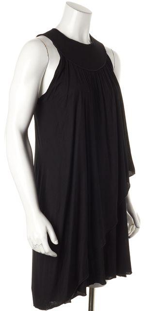 M MISSONI Black Sleeveless Layered Shift Dress