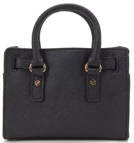 MICHAEL MICHAEL KORS Black Saffiano Leather Mini Crossbody Bag