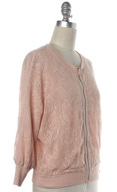 MARC BY MARC JACOBS Pink Eyelet Basic Jacket