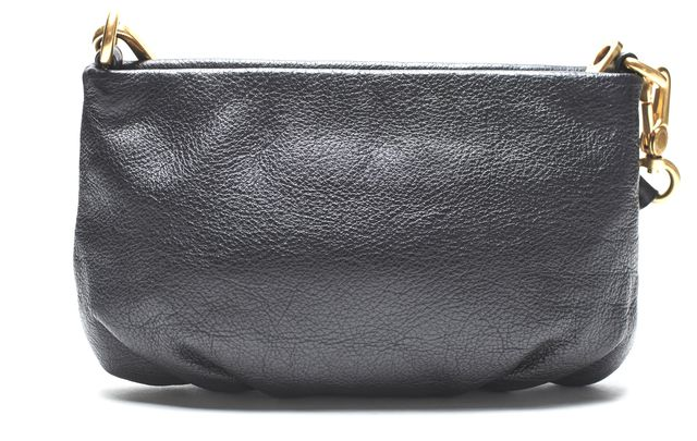 MARC BY MARC JACOBS Authentic Black Leather Crossbody Clutch