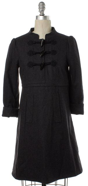 MARC BY MARC JACOBS Gray Wool Oversized Shift Dress