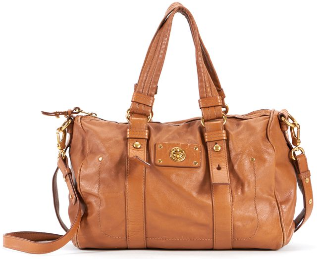 MARC BY MARC JACOBS Tan Leather Satchel