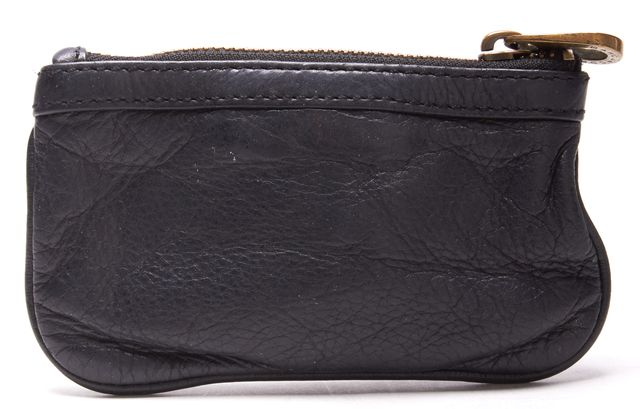 MARC BY MARC JACOBS Black Leather Key Holder Wallet