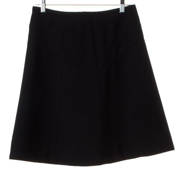 MARC BY MARC JACOBS Black Wool A-Line Skirt