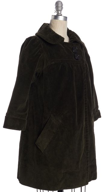 MARC BY MARC JACOBS Olive Green Corduroy Jacket
