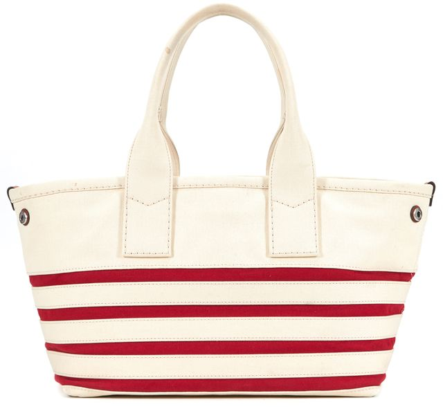 MARC BY MARC JACOBS Ivory Flag Sequin Embellished Tote