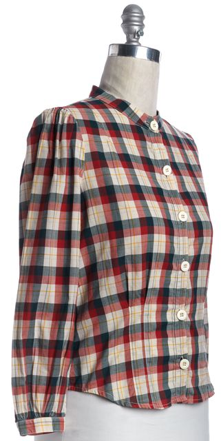 MARC BY MARC JACOBS Red Plaid Button Down Shirt